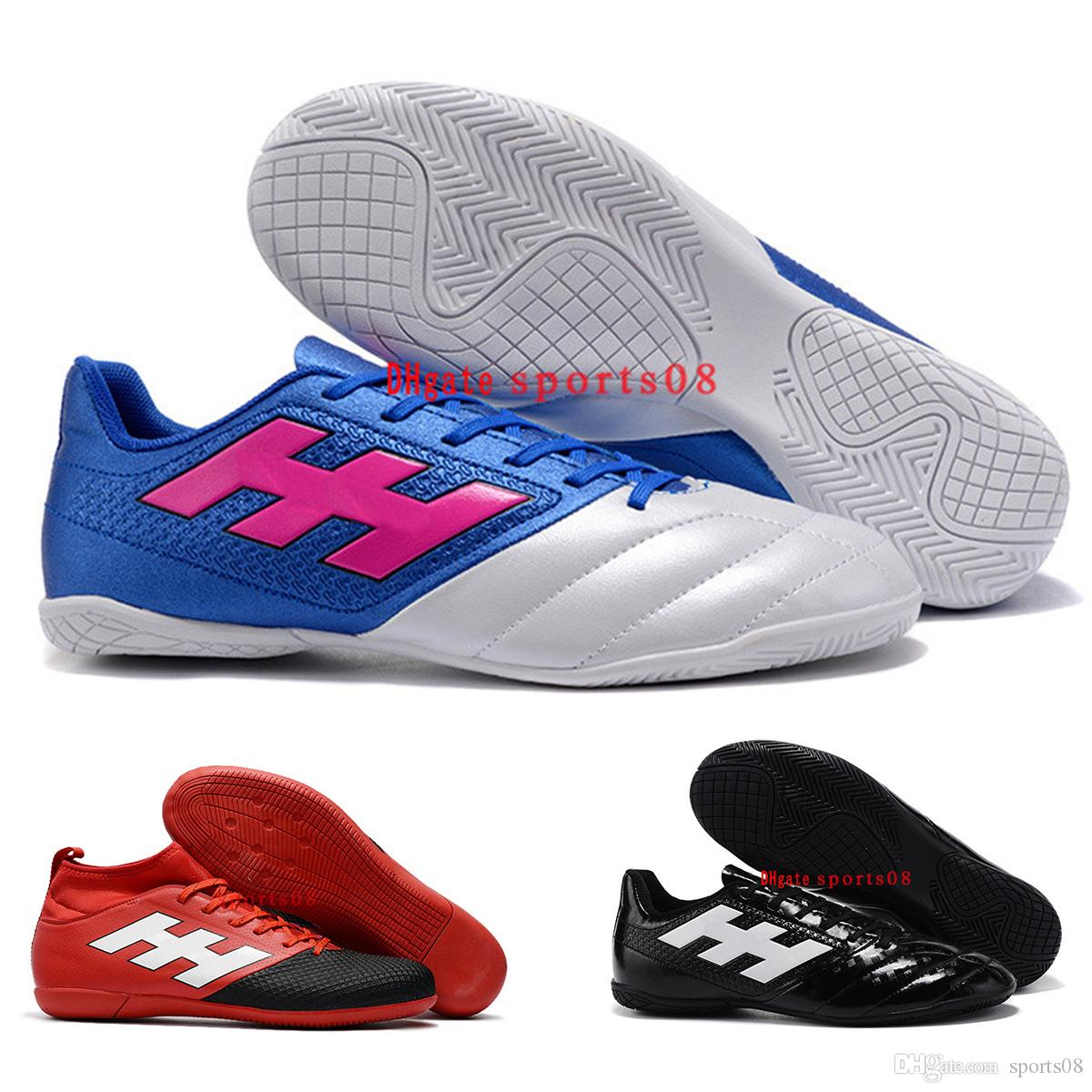 1b3e5b48a Hot Sale Mens Turf Low Ankle Soccer Shoes 2017 ACE 17.4 IN Indoor ...