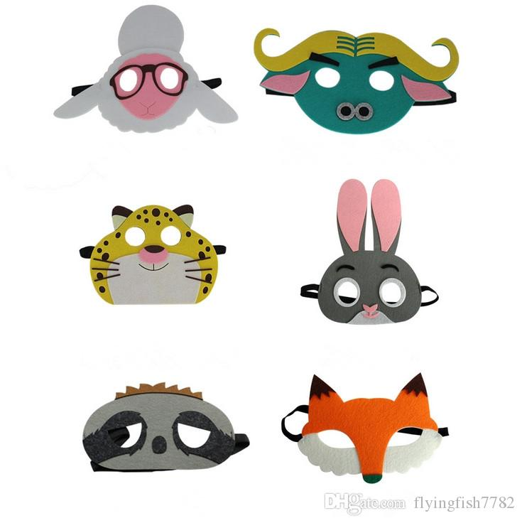 see larger image - Kids Halloween Masks