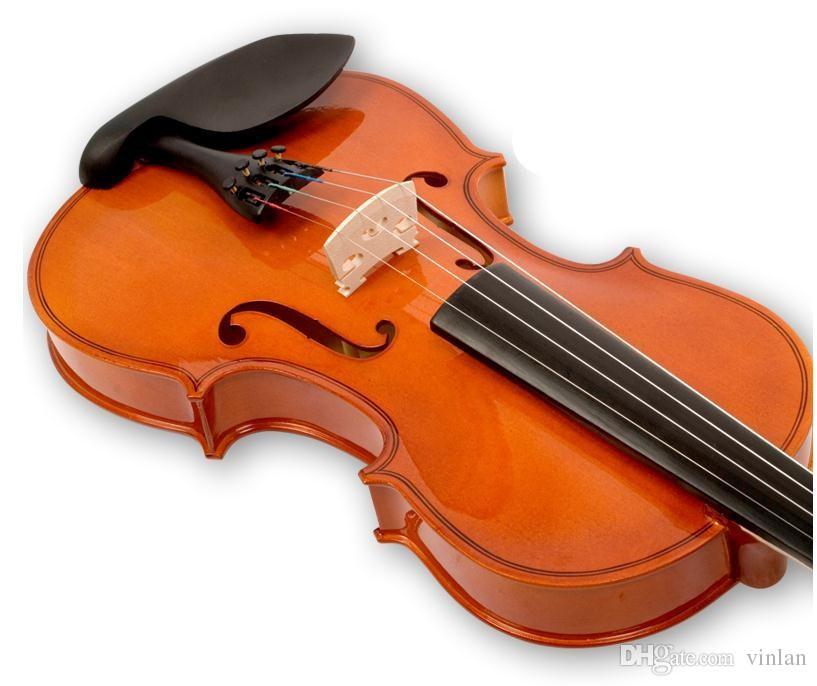 V102 Violino di abete di alta qualità 1/4 violino artigianale violino Accessori strumenti musicali Spedizione gratuita