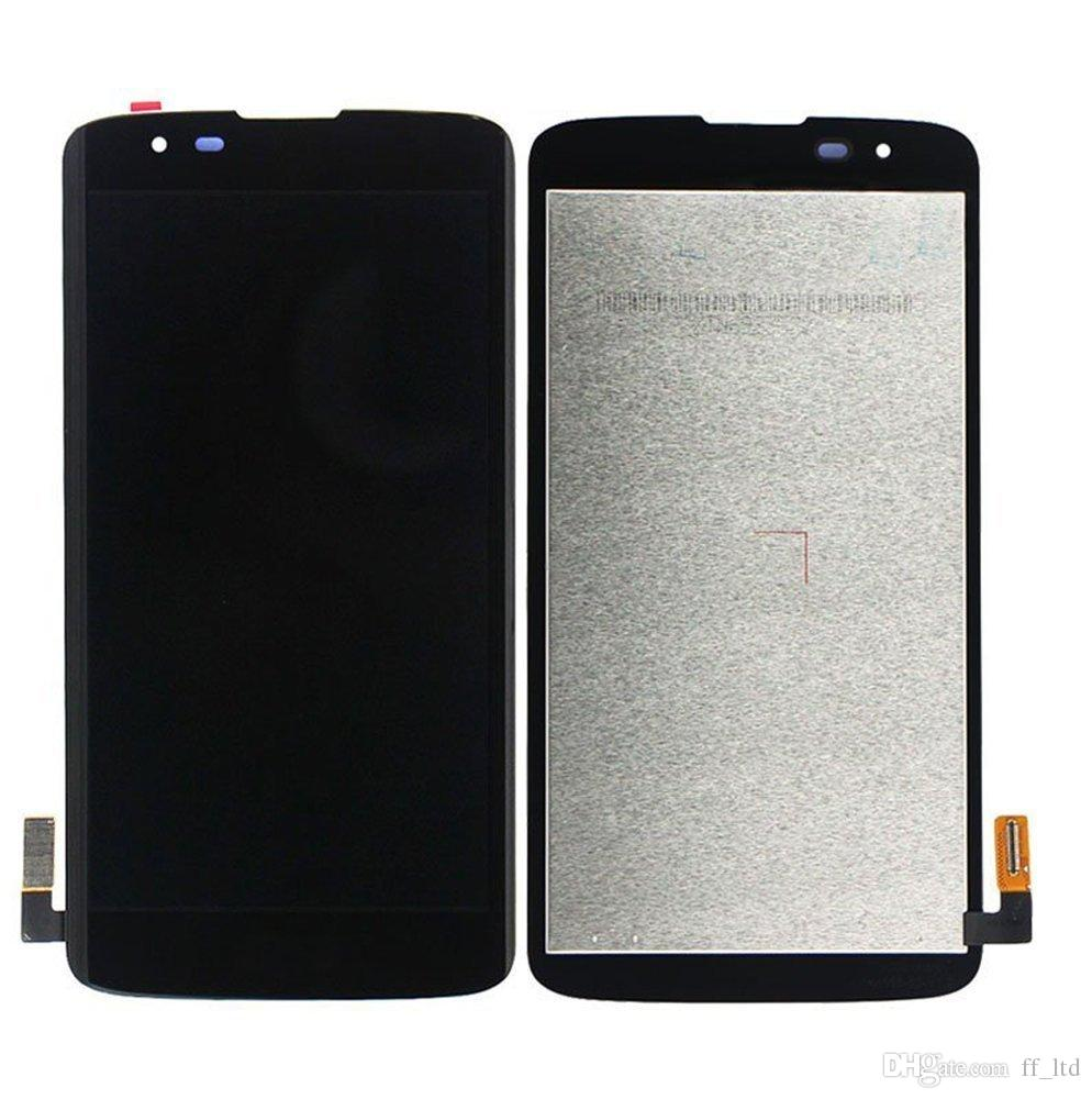 Original Screen Lcd for LG K8 K350N K350E K350DS K350 LCD Display Digitizer Touch Screen Full Assembly Replace 100% Tested