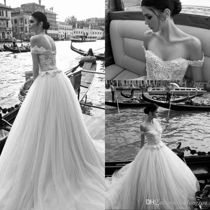 Vintage Wedding Dresses Under 500: Vintage Inbal Dror Lace Wedding Dresses Off Shoulder