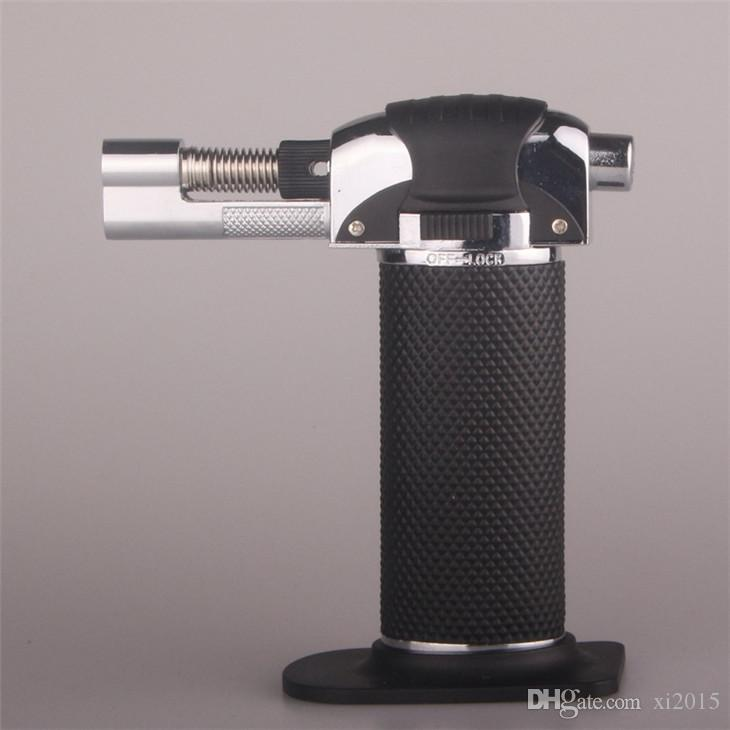 Flame Gun Gas Butane Blow Torch Burner Welding Solder Iron Soldering Lighter