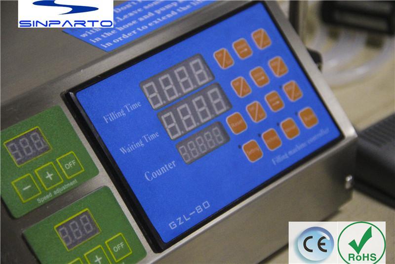 Sinparto GZL-80 Elektrikli şişe su dolum makinası uçucu yağ dolum makinası süt suyu doldurma parfüm paketleme makinesi