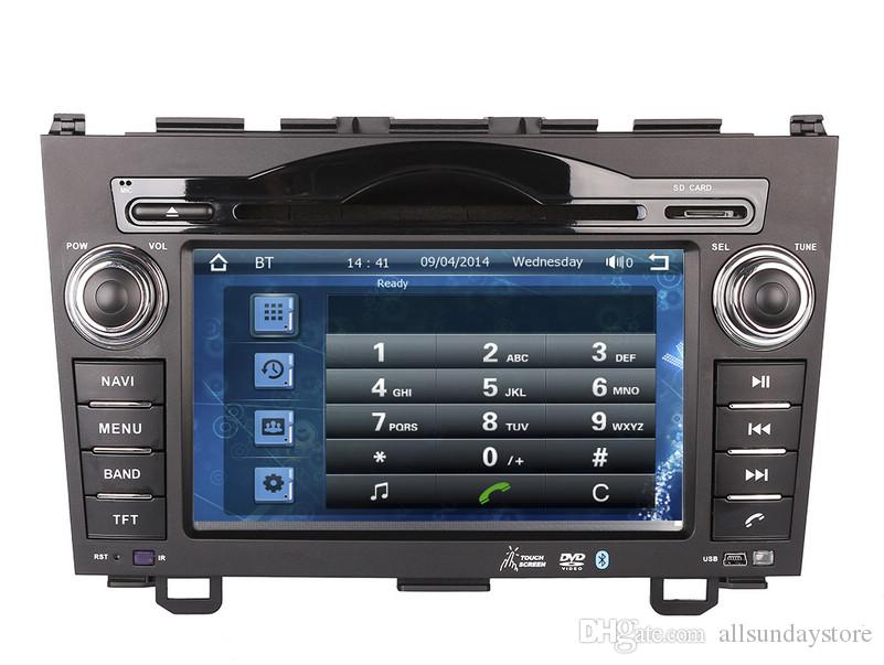 Car DVD Player GPS Navigation for Honda CRV CR-V 2006-2011 with Radio Bluetooth USB SD RCA AUX Audio Video Stereo