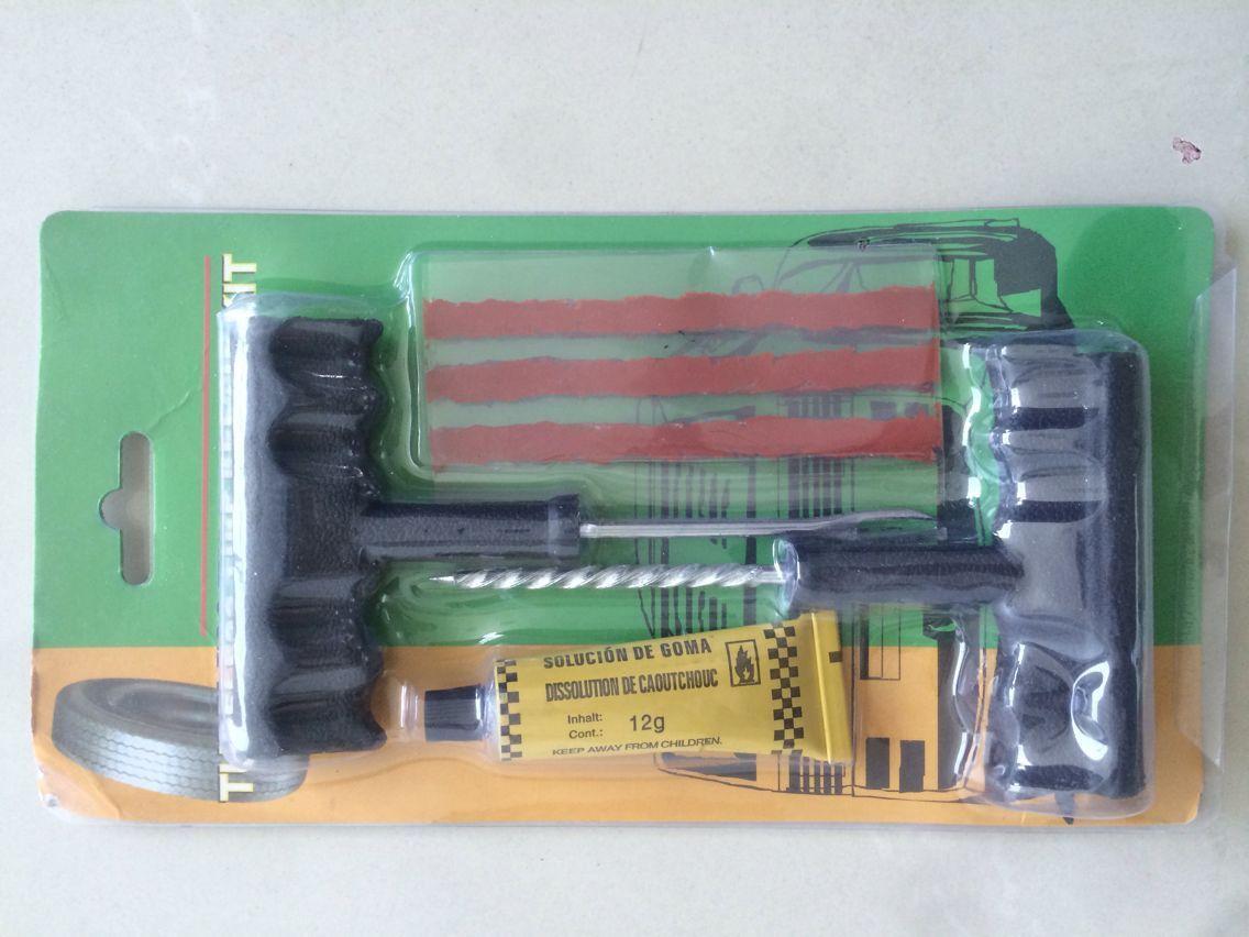 Attraktives Auto Fahrrad Tubeless Reifen Reifenpanne Stecker Reparatur Werkzeug Kits Sicherheit 5 Streifen