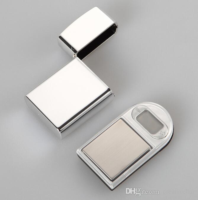200g x 0,01g elektronische Mini LCD Digital Pocket Feuerzeug Art Skala Schmuck Gold Diamond Gramm Skala mit Hintergrundbeleuchtung
