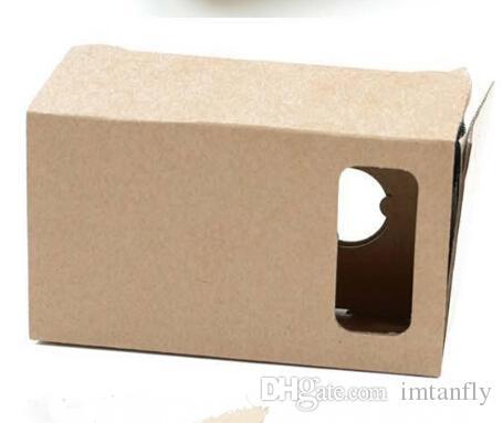 DIY Google Cardboard VR Box Version VR Virtual Reality Lunettes 3D pour 3,5 - 6,0 pouces Smartphone