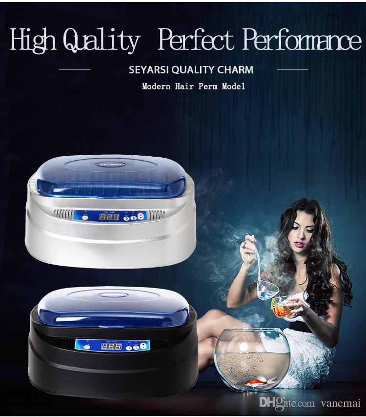 New Arrival Wireless Hair Perm Machine, Nano titanium Professional Jumbo Rolle, 110Vr