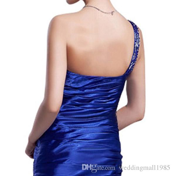 Bargain buy new shoulder formal Homecoming Dresses Prom graduation short paragraph fashion sexy fashion dinner party Dress plus size
