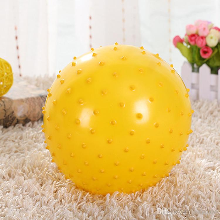 20cm Kid inflatable massage jumping ball Children Healthcare PVC material bouncing balls Balance gym Ball