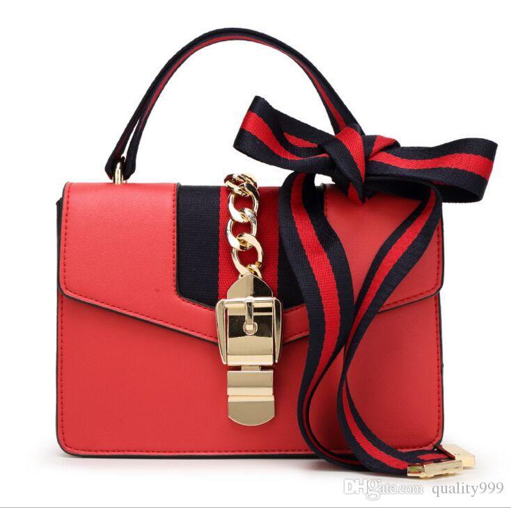 ae747f08ffdd Fashion New 2017 High Quality Women Handbags Bow Decorate Shoulder ...