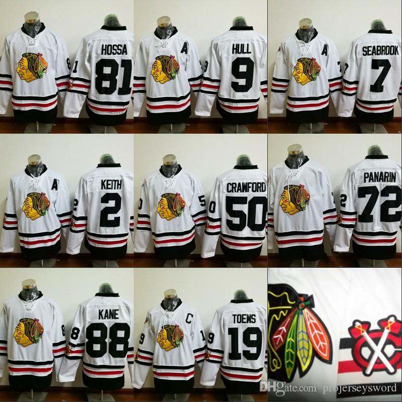 finest selection dddb0 997ba 2017 Winter Classic Jersey Men's 2 Duncan Keith 19 Jonathan Toews 72 Artemi  Panarin 88 Patrick Kane Chicago Blackhawks Hockey Jerseys Cheap
