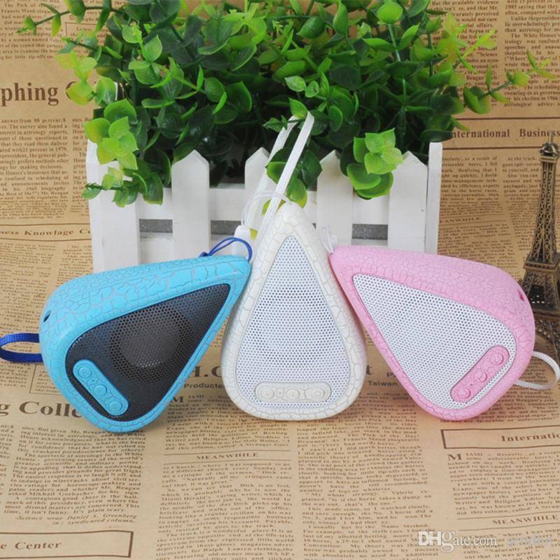 Cool Bluetooth speaker Top Quality Water Drop Shape Wireless mini bluetooth Speaker water drip Loudspeaker Soundbox Crackle Light Music MP3