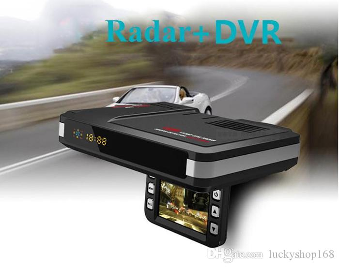 Factory Price! 2 in 1 Car DVR Camera Vehicle Camera Video Recorder Dash Cam Registrator Camcorder Radar Laser Speed detector Night Visio DHL