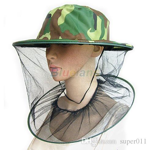 9b23b93c3ef8f Mosquito Bug Insect Bee Resistance Net Mesh Head Face Protector Hat ...