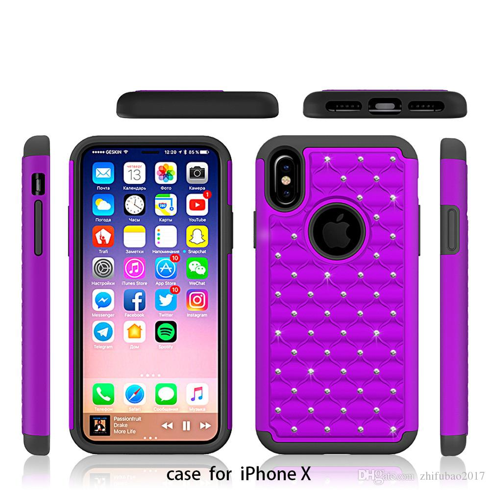 metro pcs iphone for iphone x phone pc tpu plastic anti scratch two in 1116