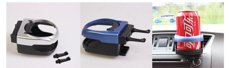 Folding Auto Getränkehalter Auto Outlet Getränkehalter Multifunktionale Getränk Inhaber Auto Liefert Auto Fahrzeug Flasche Tasse Halter Stand