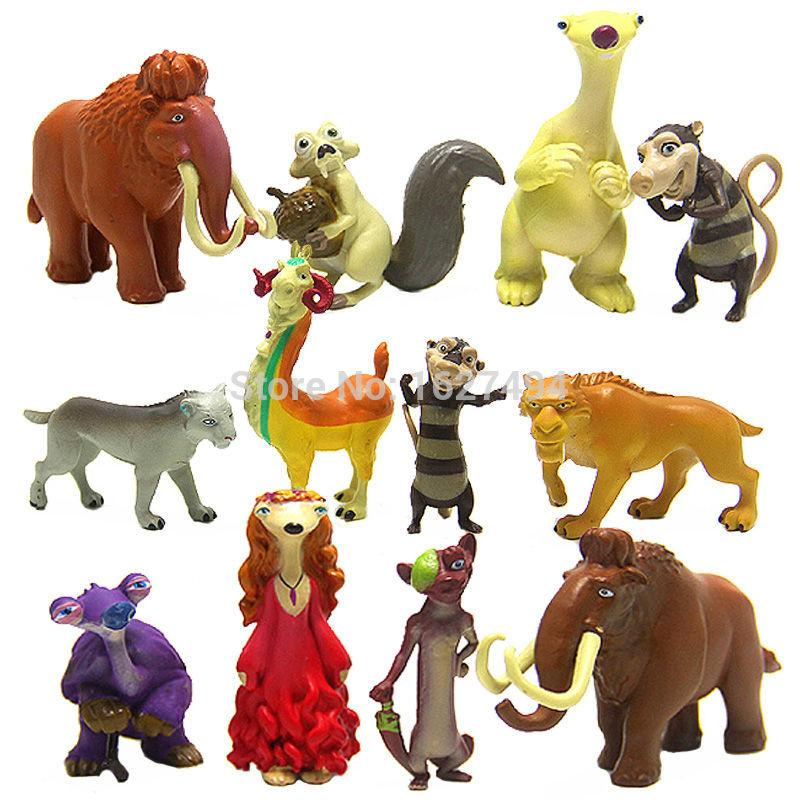 Toys From Ice Age 1 : Ice age cartoon movie manny ellie diego sid pvc