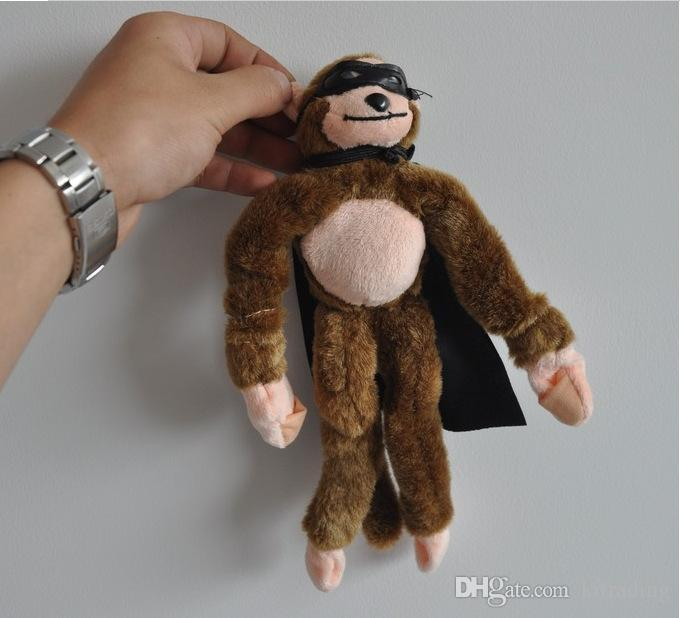 Flying Monkey Plush Toys Kids Cute Cartoon Animal Soft Slingshot sound toys multi style Cute Lance-pierre for party holloween Xmas gifts