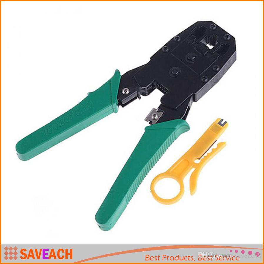 Multi Tool RJ45 RJ11 RJ12 Wire Cable Crimper Crimp PC Network Hand ...