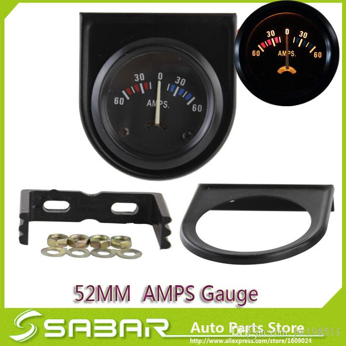 Compre 52mm Car Amp Gauge Meter 12 Voltios Gauge Car Boat Truck ...