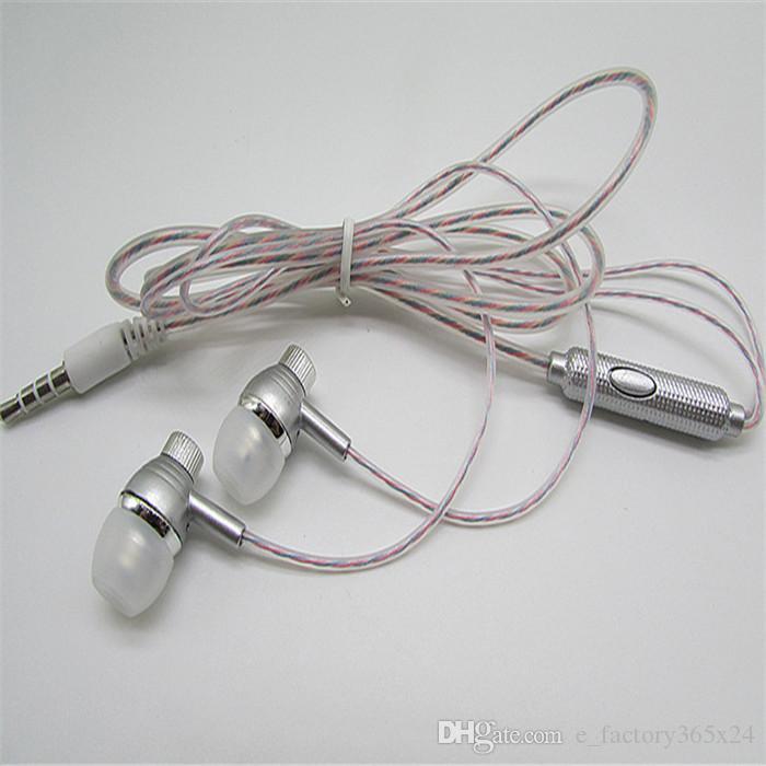 Luxury Perfume In Ear 3.5mm Universal Headphones Bass Stereo Mic ...