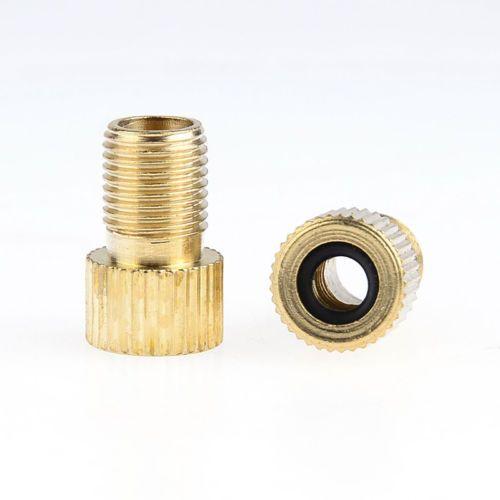 Fietsfiets Presta Valve naar Schrader-adapter Fietspomp Type Binnenklep TUBLE-klepomvormer met rubberen ringringen