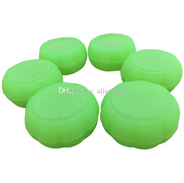 factory direct sale Silicone Container Jars Dab Box Reusable for Concentrate Wax silicone container L 36*T 18 MM