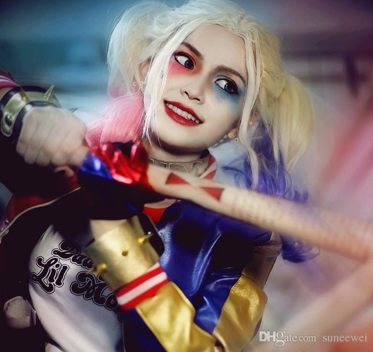 Suicide Squad Harley Quinn Wood baseball bat cosplay Weapon