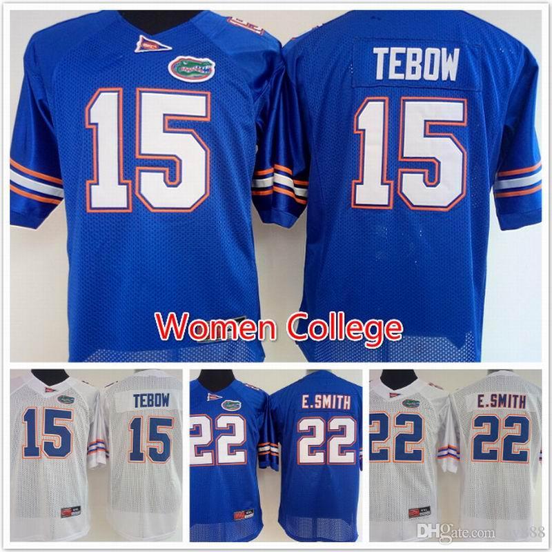 0b41f08a654 Women.s Florida Gators 15 Tim Tebow 22 E.Smith NCAA .