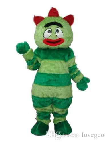 Oisk Yo Gabba Gabba Mascot Costume Suit Halloween Christmas Birthday Costumes S/M/L/Xl/Xxl Tinkerbell Costumes Discount Halloween Costumes From Loveguo ...  sc 1 st  DHgate.com : birthday suit halloween costume  - Germanpascual.Com
