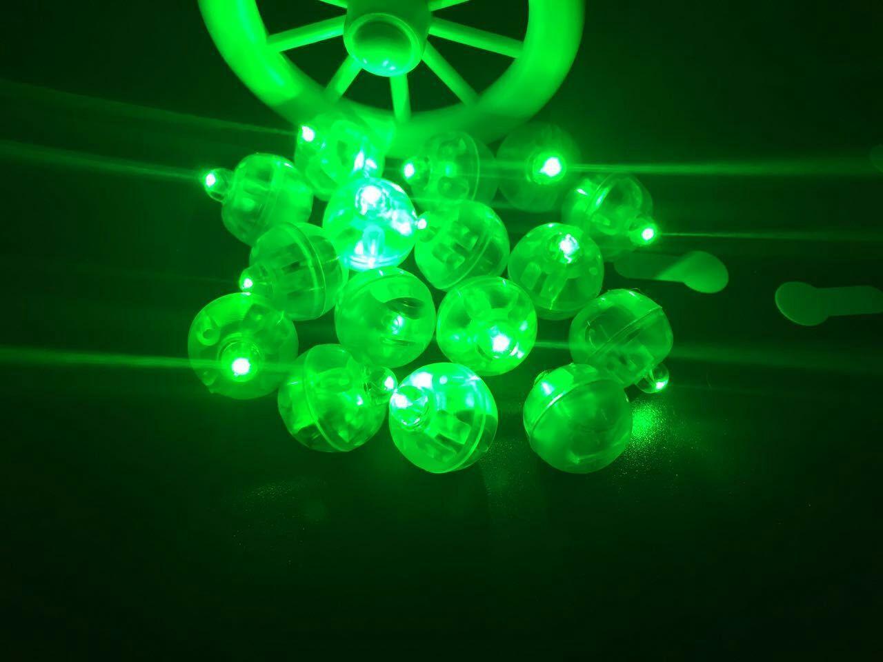 Bunte runde geführte RGB-Blitz-Ball-Lampen-Ballon beleuchtet versenkbare Laternen-Lichter für Laternen-Weihnachtshochzeitsfest-Dekoration