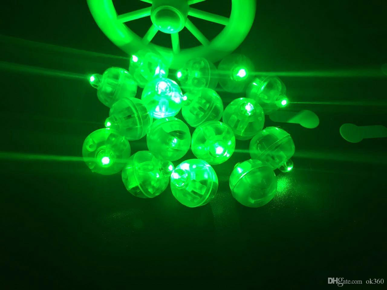 Colorful Round Led RGB Flash Ball Lamps Balloon Lights Submersible Lantern Lights for Lantern Christmas Wedding Party Decoration