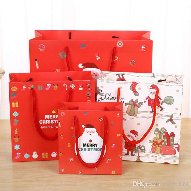 Großhandel Papier Geschenk Taschen Weihnachtsgeschenk Taschen Mode ...
