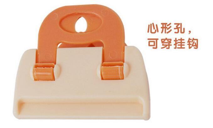 Bolsa de plástico de caramelo clips de sellado para la cocina de almacenamiento de alimentos frescos bolsa de almacenamiento clip homen herramienta de almacenamiento de cocina organización de ayuda