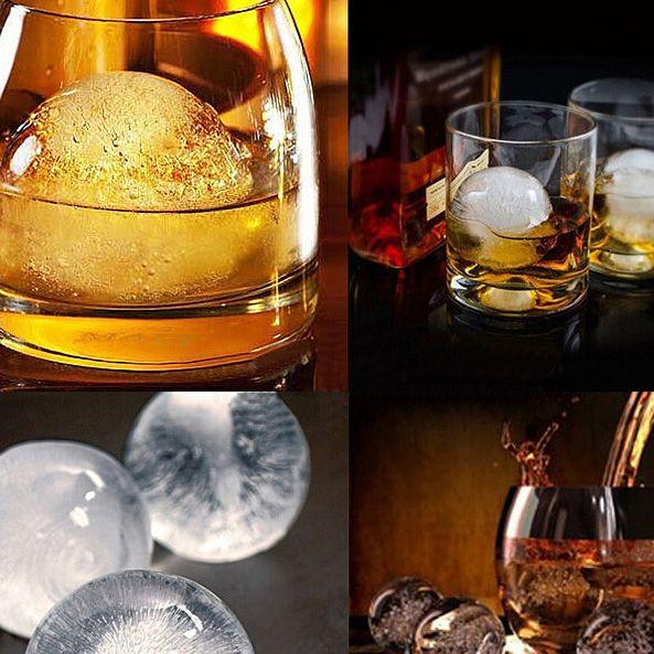 Yuvarlak Bar Silikon Viski Buz Küp Topu Makinesi Kalıp Küre Kalıp Parti Tepsi E00138 BARD
