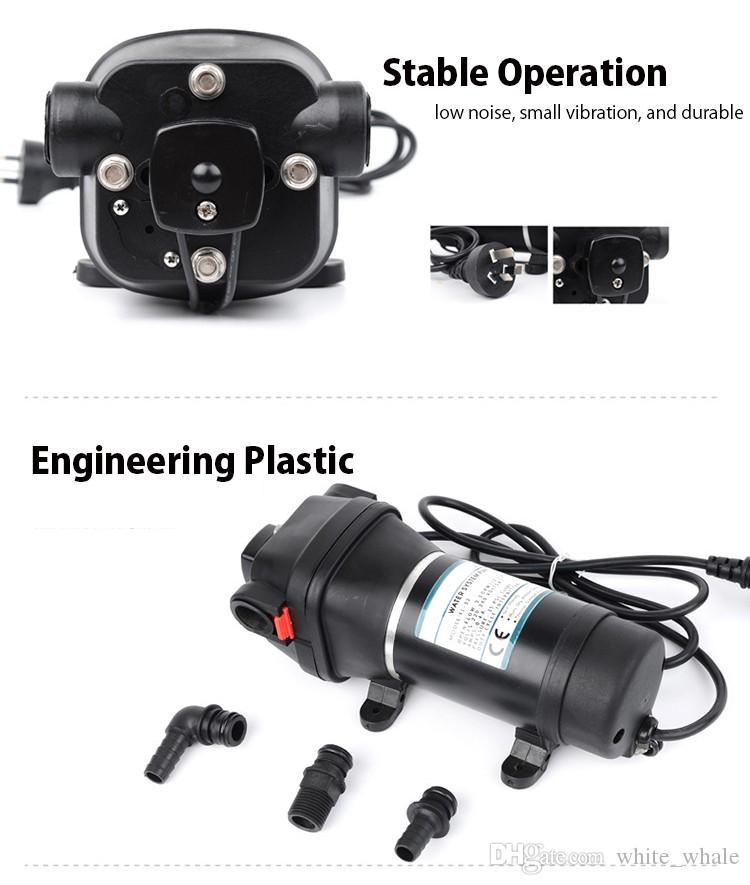 110/220V High Pressure Electric Automatic Diaphragm Pump Factory Direct