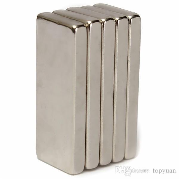 N52 Strong Rectangular Neodymium Magnets 25x10x3mm Block NdFeB Rare Earth Magnets