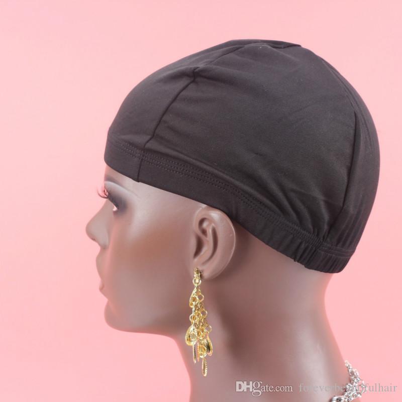 10 шт. / лот Бесплатная доставка купол шапки для изготовления парики Glueless регулируемый лайнер спандекс чистой эластичный купол парик Cap
