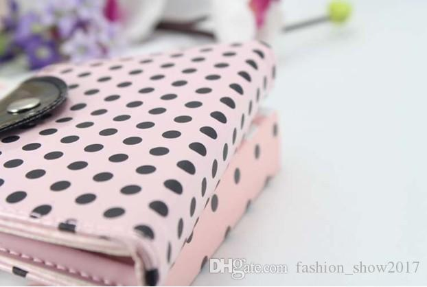 Pink Polka Dot Purse Manicure Set favor Novelty Wedding Bridal Shower Valentine's Day Gift Party Favors Present