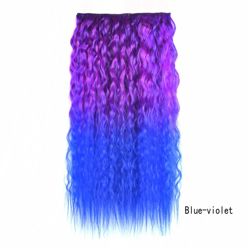 """Sara Kinky deep curly clip in on hair extension 60cm,24"""" ,120g hairpieces for woman hair pieces synthetic hair extensions"""