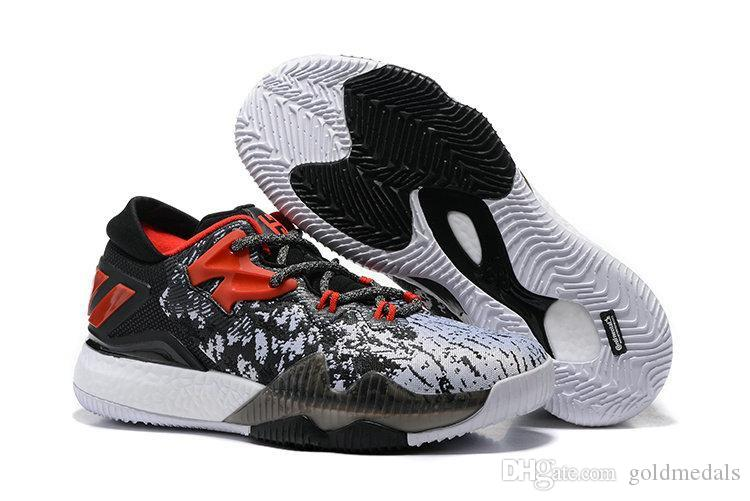 f54b7e09ff059a 2019 Wholesale 2017 Crazylight Boost Low 2016 Basketball Shoes James Harden  Athletics Boots Cheap Basketball Sports Shoes Men Sneakers Shoes From  Goldmedals ...