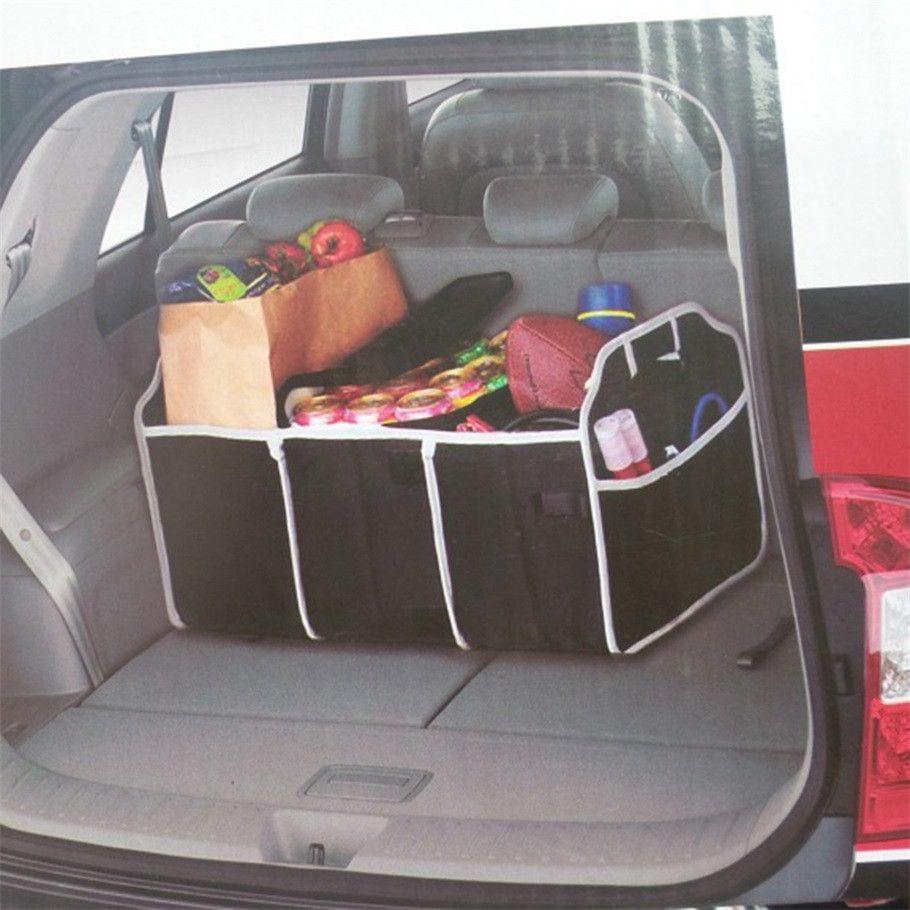 Dobrável Organizador Do Carro de Inicialização de Alimentos Saco De Sacos De Armazenamento Caso Caixa de tronco organizador de Automóveis Estiva de Arrumação Acessórios Interiores Dobrável
