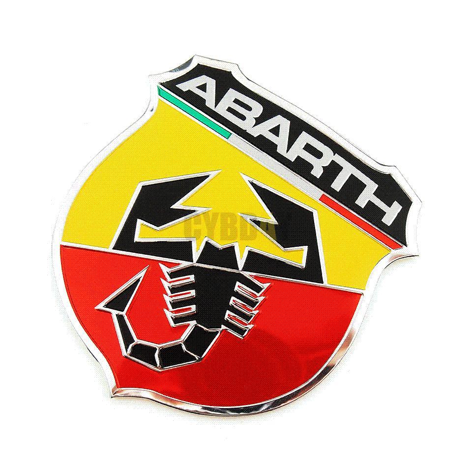 Online Cheap 3d 3m Car Abarth Metal Adhesive Badge Emblem Logo Decal