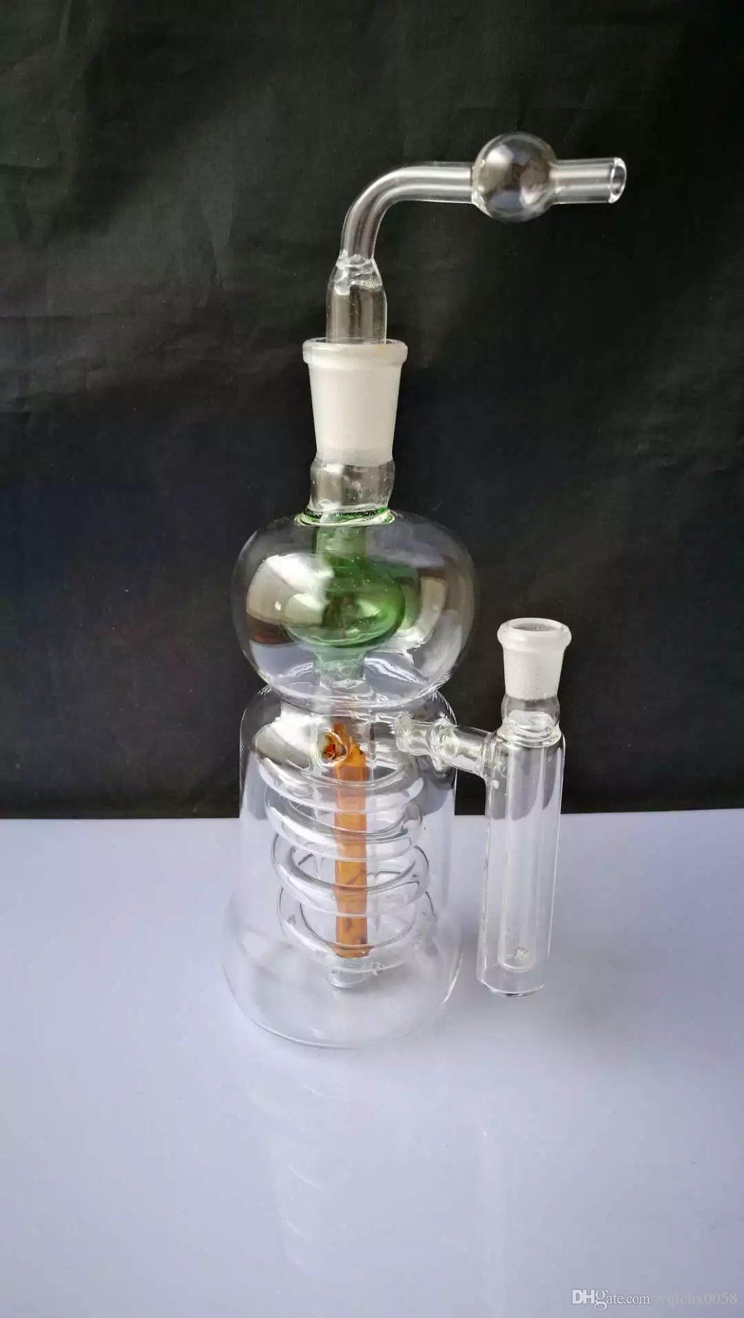Cachimba colgante del alzamiento de alambre, Bongs de cristal al por mayor, tubos de agua de cristal de la hornilla de aceite, accesorios del tubo de humo