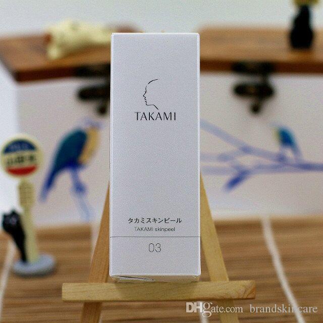 Yüksek Kaliteli Japonya TAKAMI Cilt Soyma Exfoliators uyanmak cilt siyah nokta Derin temizlik gözenekleri sıkın 30 ml Ücretsiz DHL Kargo