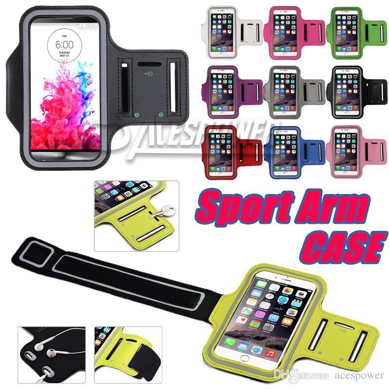 Para iPhone 11 Pro Max impermeable Caja de deportes Caja de carreras Armband Running Bag Holder Holder PouCh Funda telefónica para Galaxy Note 10 Plus Brazo