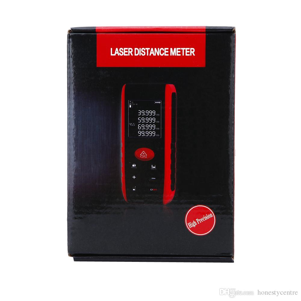 by dhl/fedex 100m portable electronic digital laser power range finder Area Volume Measurement