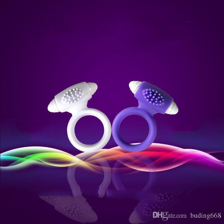 Zemalia Mężczyźni Penis Pierścień Rękaw Zdrowy Produkt Wibrujący Cockrings Cock Ring Wibrator Clitoral Penis Clit Stimulator Je289