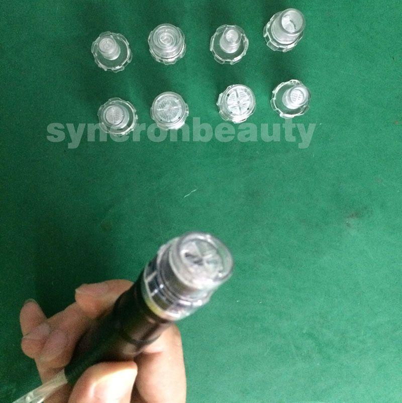 Consejos de peeling de Hydra para la máquina facial Hydradermabrasion Hydra / tiene consejos de diferentes tamaños de 8 piezas